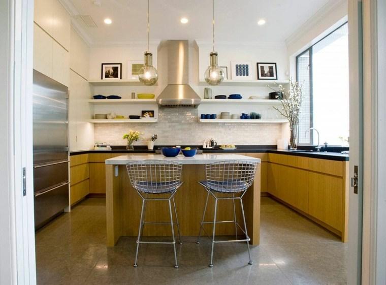 cocina estantes abiertos Todd Davis Architecture