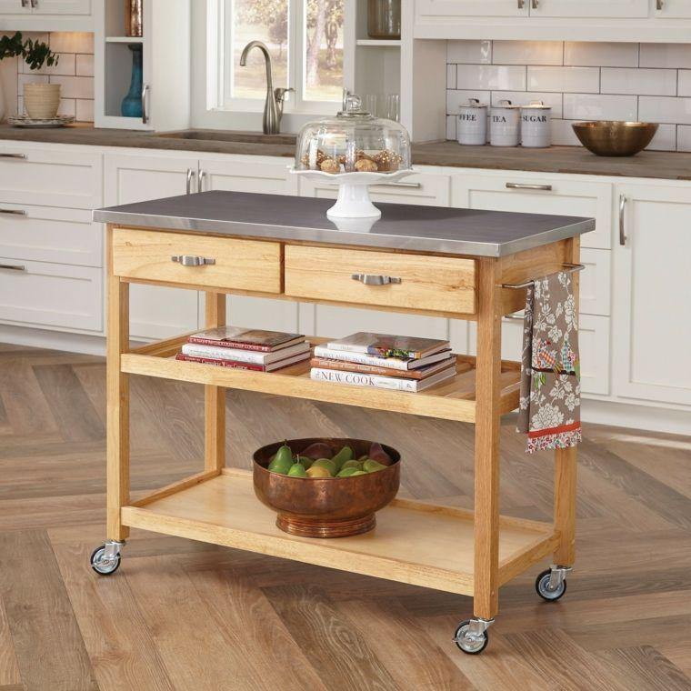 Cocina ideas y trucos para ahorrar espacio - Ideas para cocina pequena ...