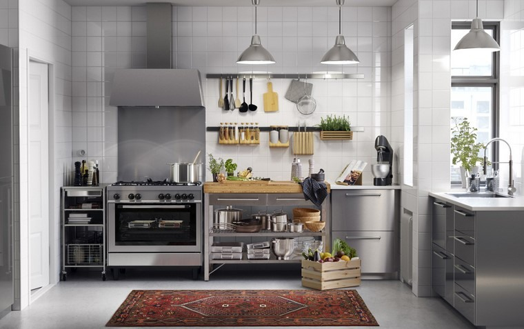 cocina ikea diseno contemporaneo facil uso ideas