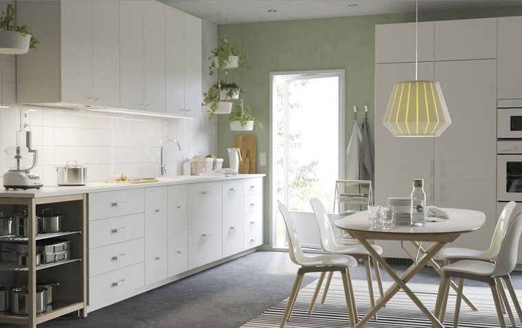 cocina ikea diseno nordico natural ideas