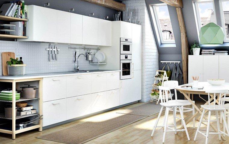 cocina ikea diseno pared espacio cocinar ideas
