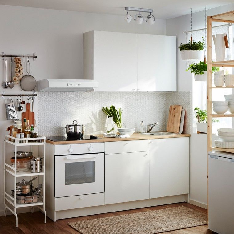 cocina ikea diseno todo uno espacio pequeno ideas