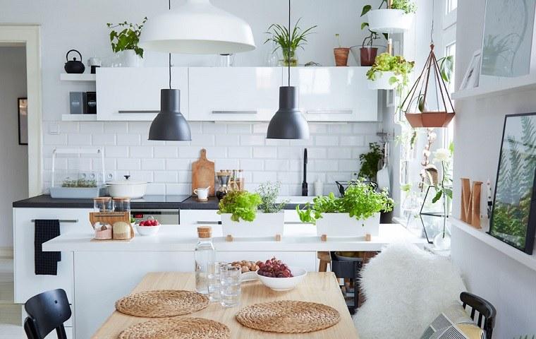 Cocina ikea inspiraci n para tu hogar - Plantas interior ikea ...