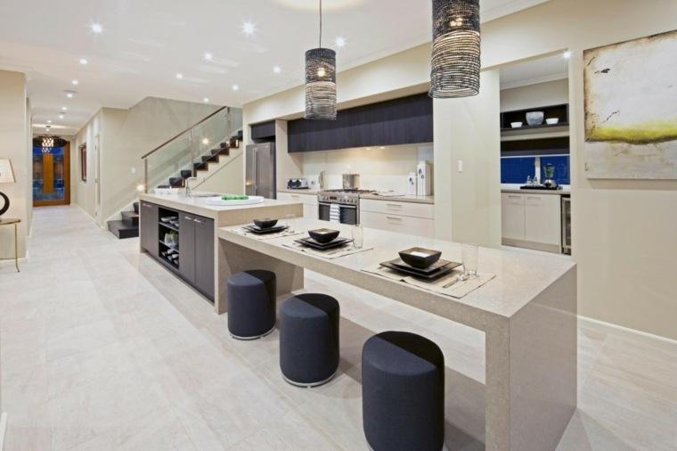 Cocinas minimalistas 24 dise os de interiores for Zapateros de diseno minimalista