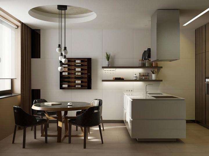cocinas con encanto almacenamiento sillones pequeñas