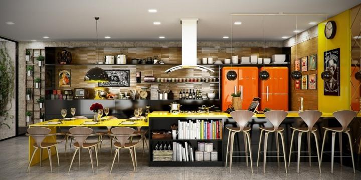 cocinas con encanto especiales muebles sillas