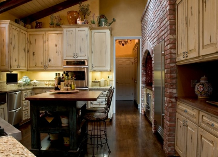 Cocinas rusticas de dise os elegantes y acogedores Disenos de cocinas rusticas