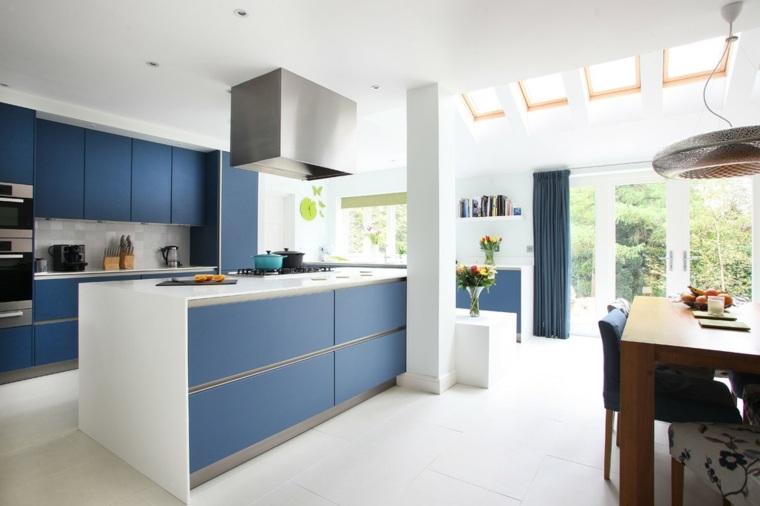 Cocinas minimalistas 24 dise os de interiores Disenos de colores para interiores