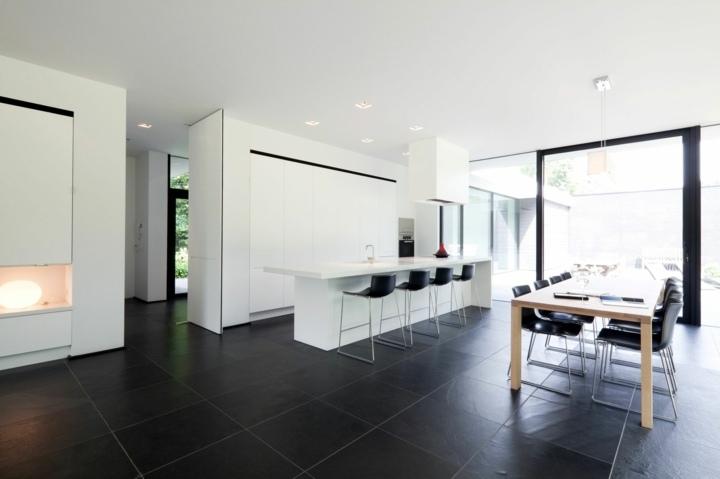 color negro ideas cocinas abierta mobiliario