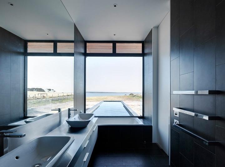 color negro ideas ventanas vistas piscina