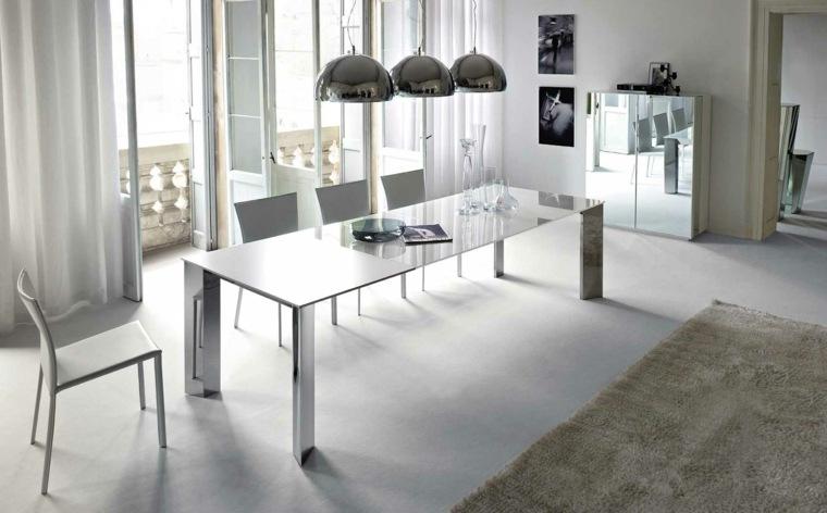 tendecia mesas de vidrio minimalistas para el comedor ...