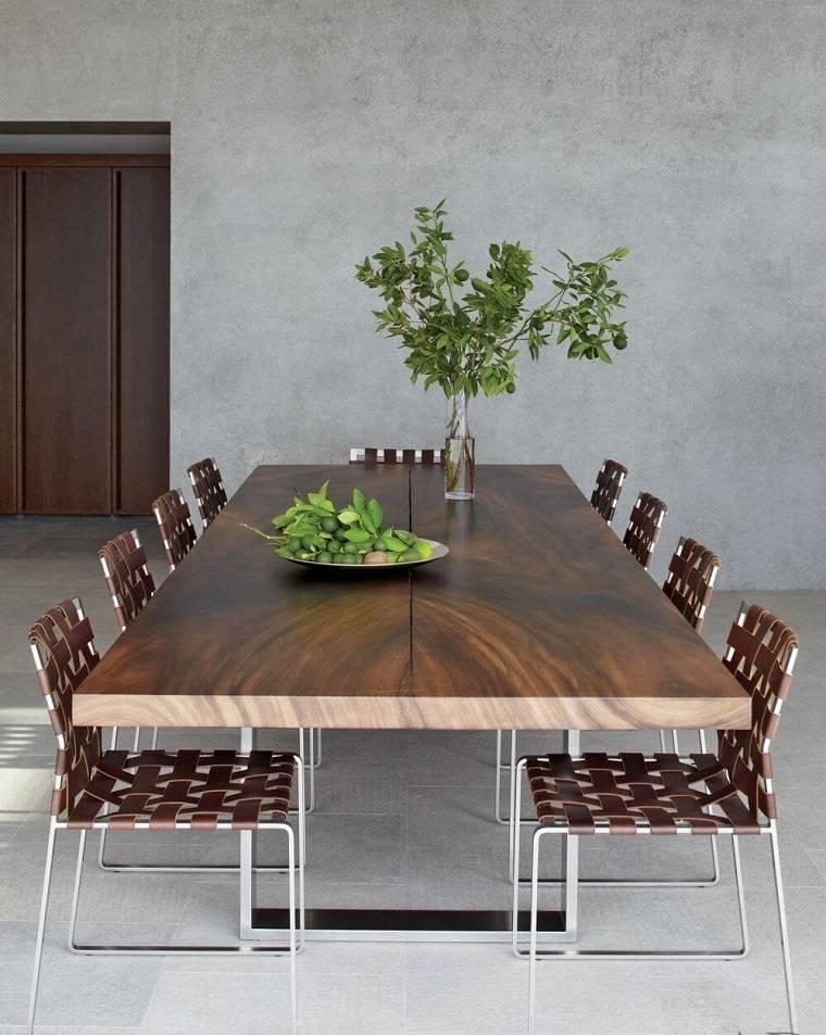 Decoraci n de interiores minimalista ideas de comedores for Salon comedor minimalista