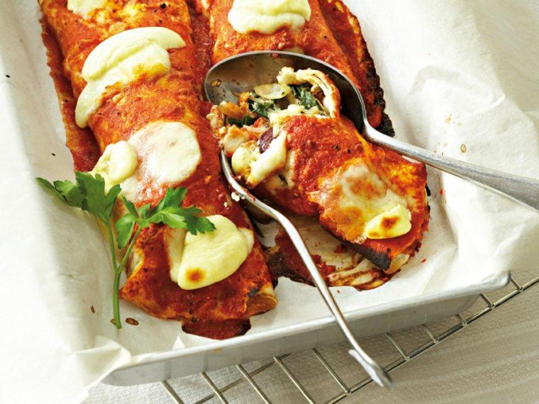 comida vegetariana recetas