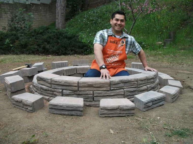 cómo construir pozo fuego