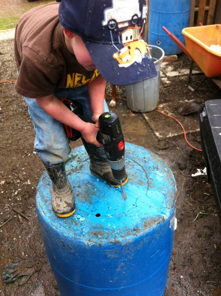cómo cultivar patatas barril casa
