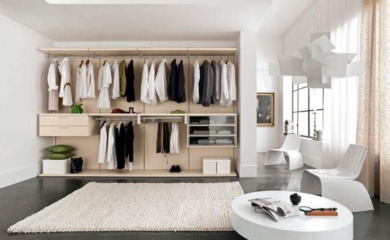 Cómo hacer un vestidor en una habitación y organizarlo