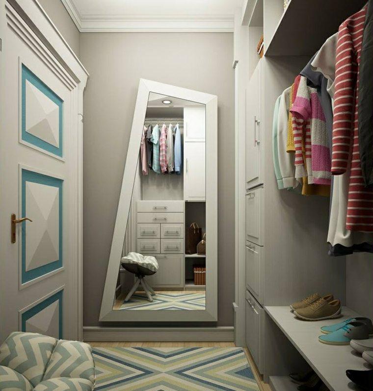 como hacer un vestidor en una habitacion estrecha atractiva ideas