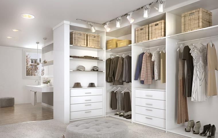 c mo hacer un vestidor en una habitaci n y organizarlo