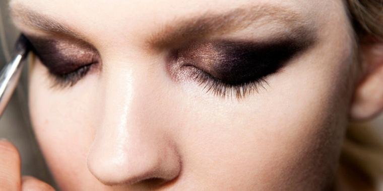 cómo maquillarse los ojos otoño