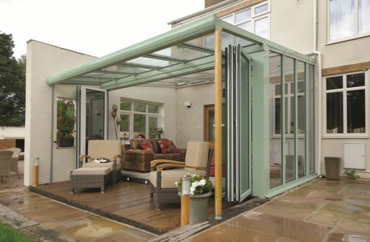 cristales para techos exterior