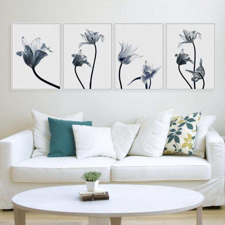 cuadro minimalista salón