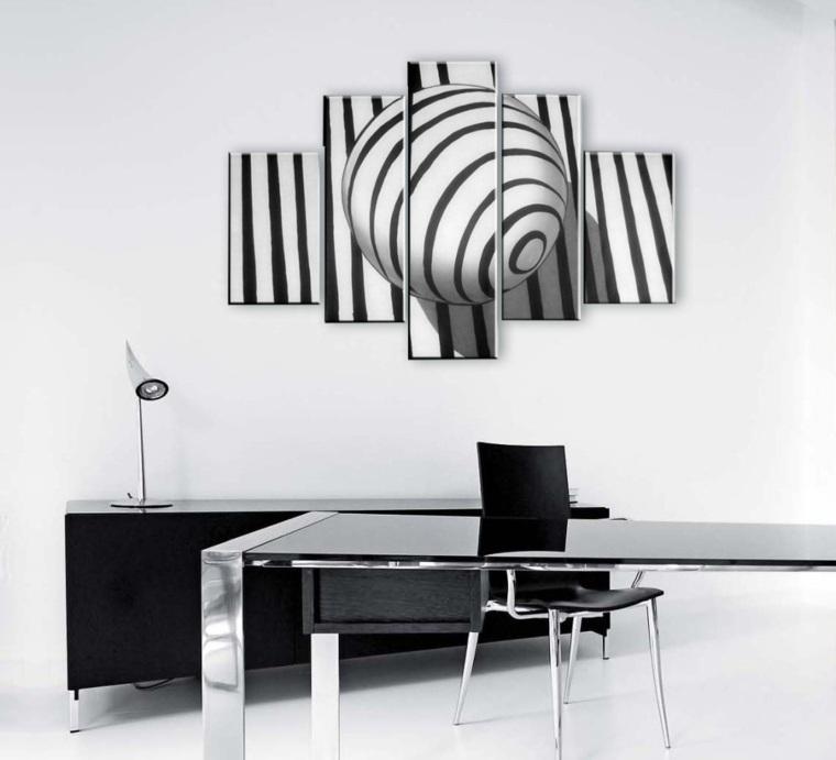 cuadros minimalistas divididos