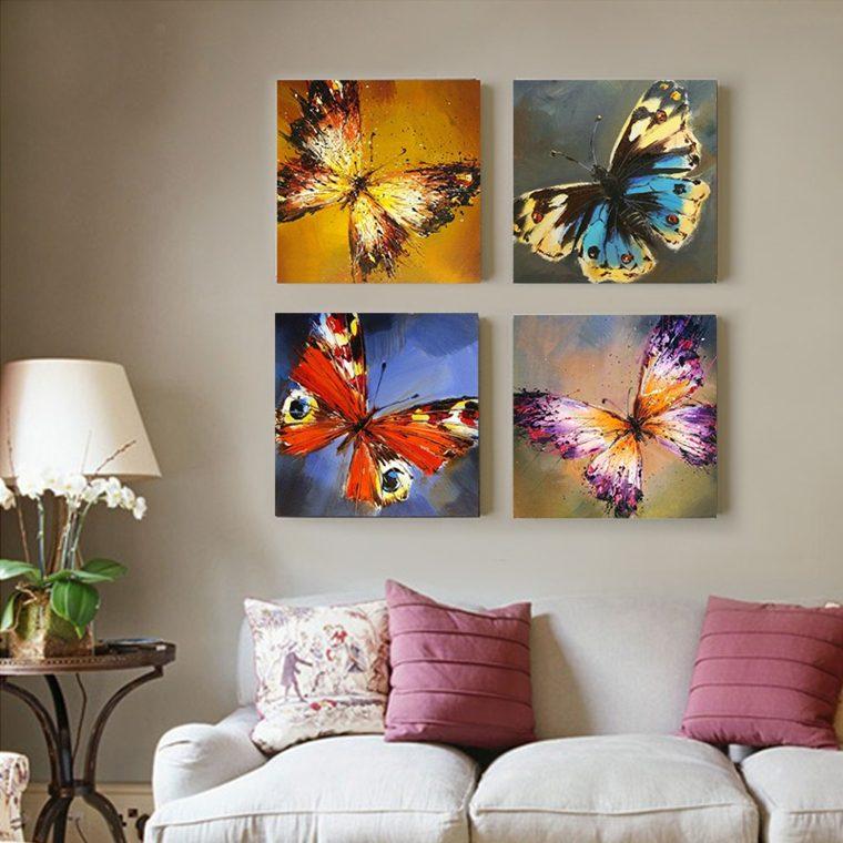 Cuadros minimalistas para decorar - Decorar salon con cuadros ...