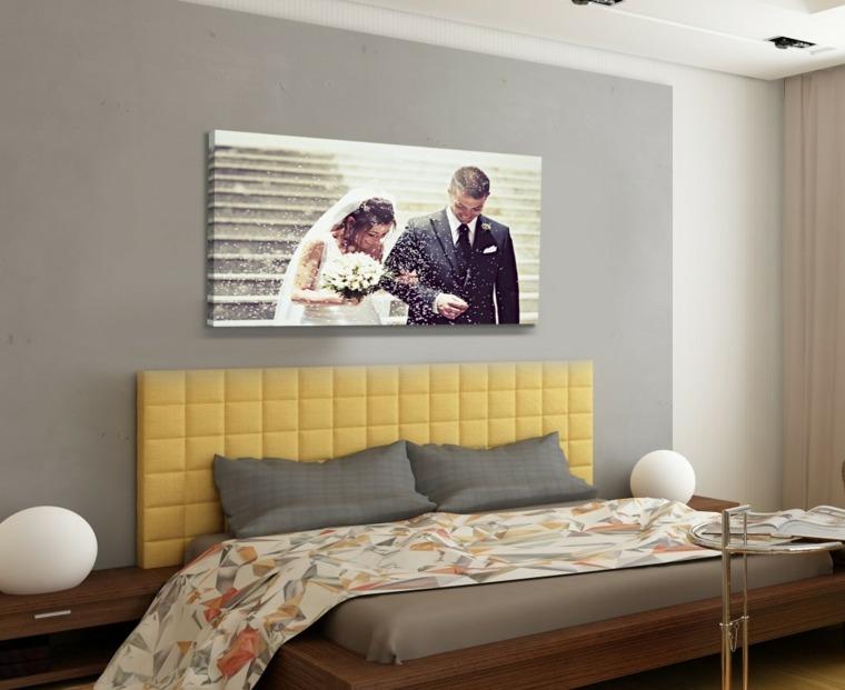 Cuadros para dormitorios elegantes - Pintura para habitacion de matrimonio ...