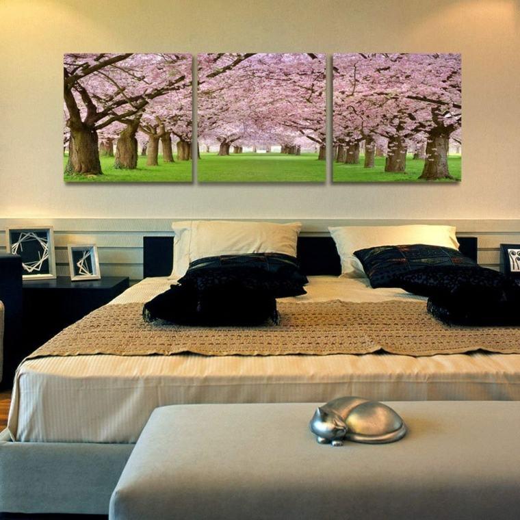 Cuadros para dormitorios elegantes for Feng shui para el dormitorio