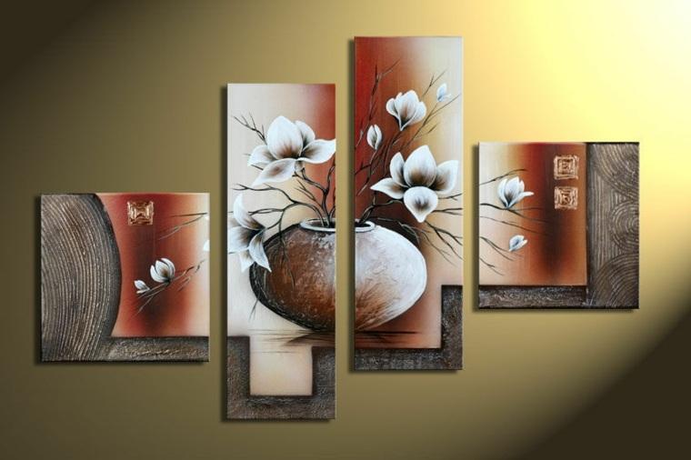 Cuadros para dormitorios elegantes for Cuadros feng shui para comedor