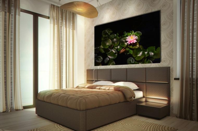 cuadros para dormitorios modernos elegantes