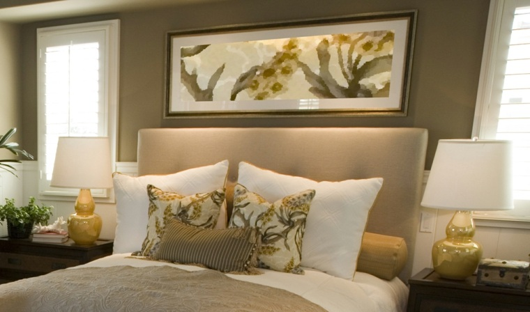 Cuadros para dormitorios elegantes Cuadros modernos decoracion para tu dormitorio living