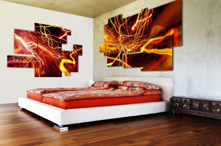 cuadros para un dormitorio futurístico