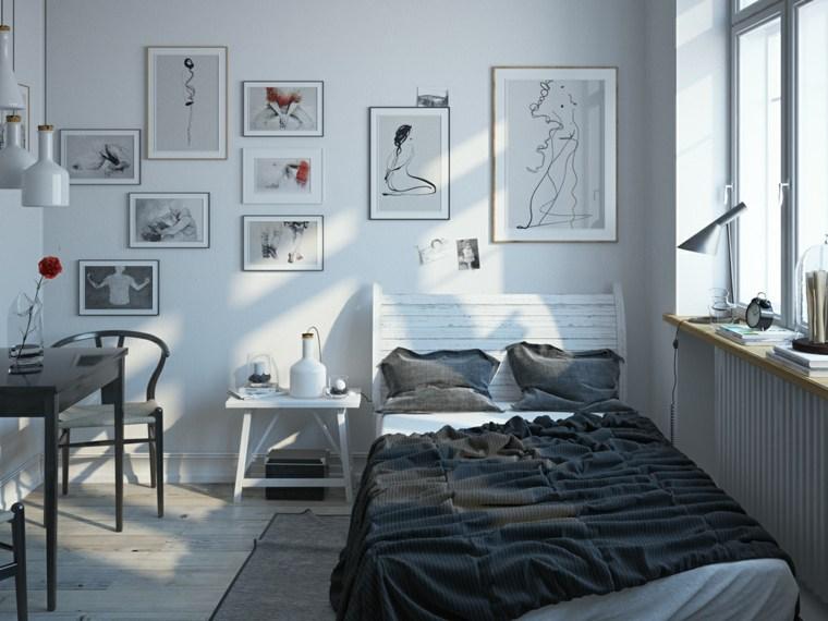 cuadros paredes decoraciones muebles colores