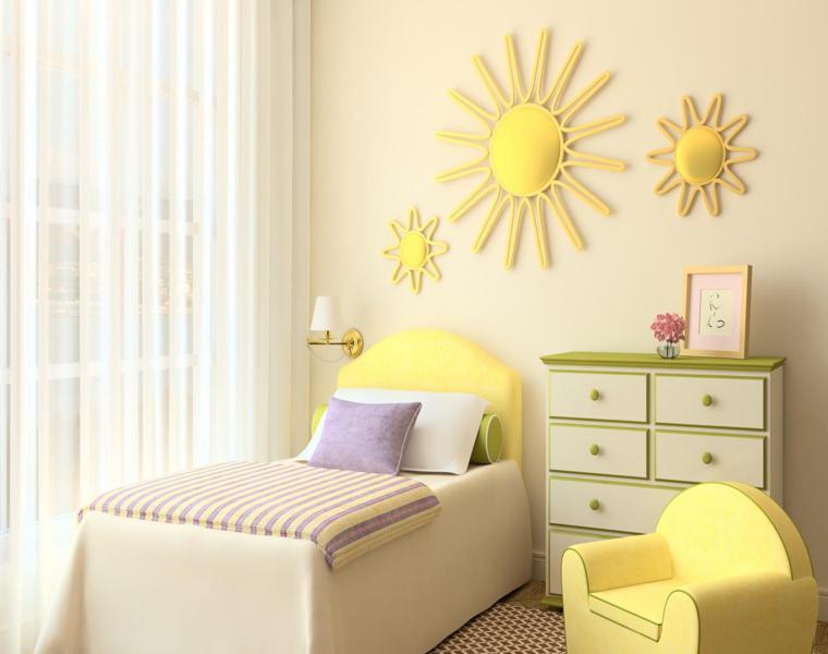 Dormitorios minimalistas para ni os y ni as dise os de - Dormitorio infantil original ...