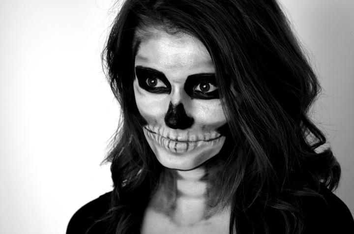 los esqueletos maquillaje detalles efectos imagenes