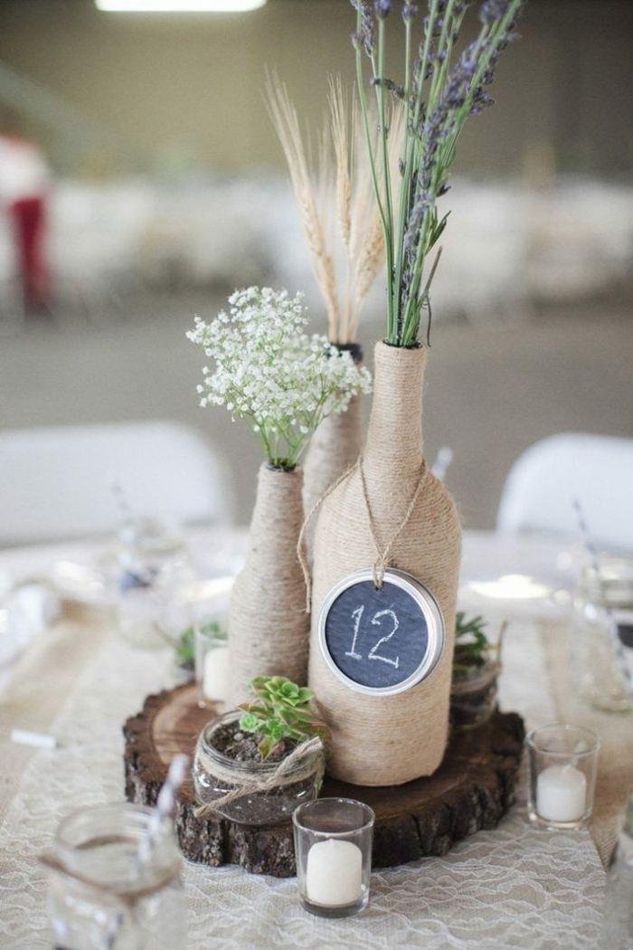 cuerdas floreros materiales fiestas celebraciones