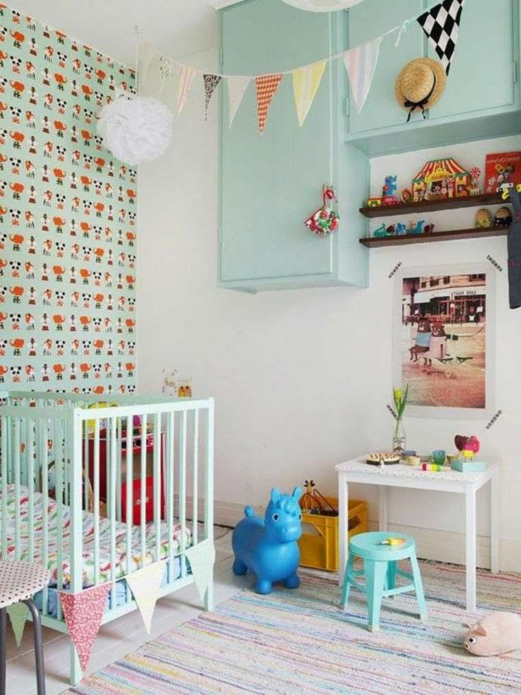 diseos de decoracion habitacion infantil de estilo shabby chic