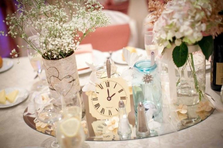 decoracin de bodas vintage mesas elegantes