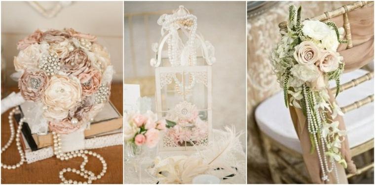 decoración boda vintage