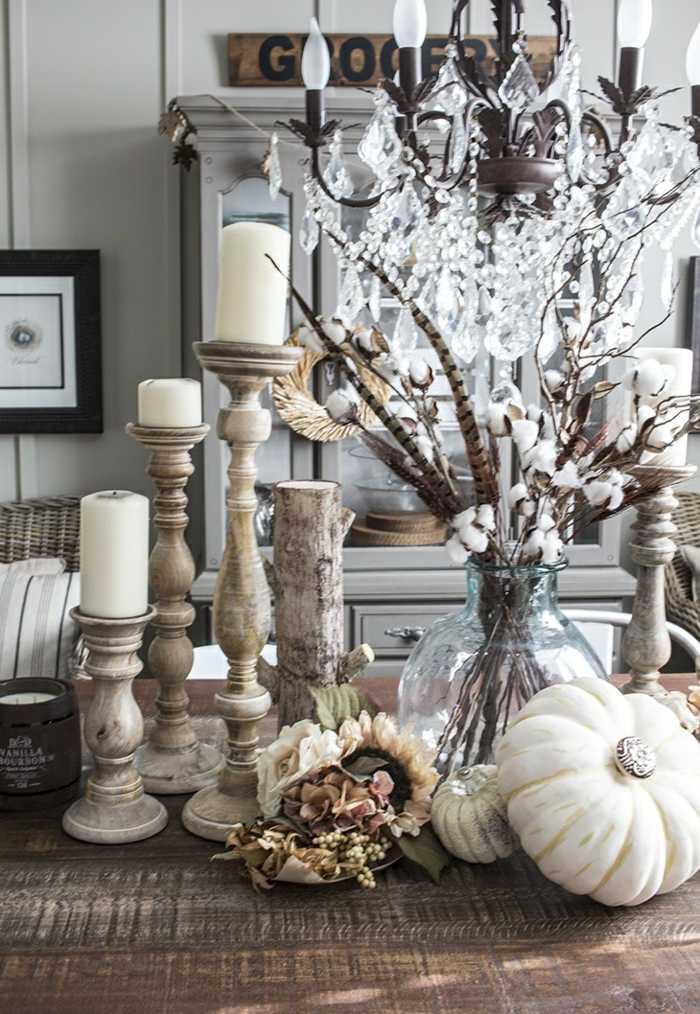decoracion centro de mesa lujoso ideas