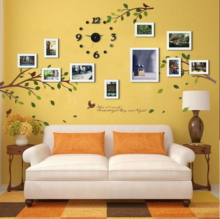 decoración con fotos interior