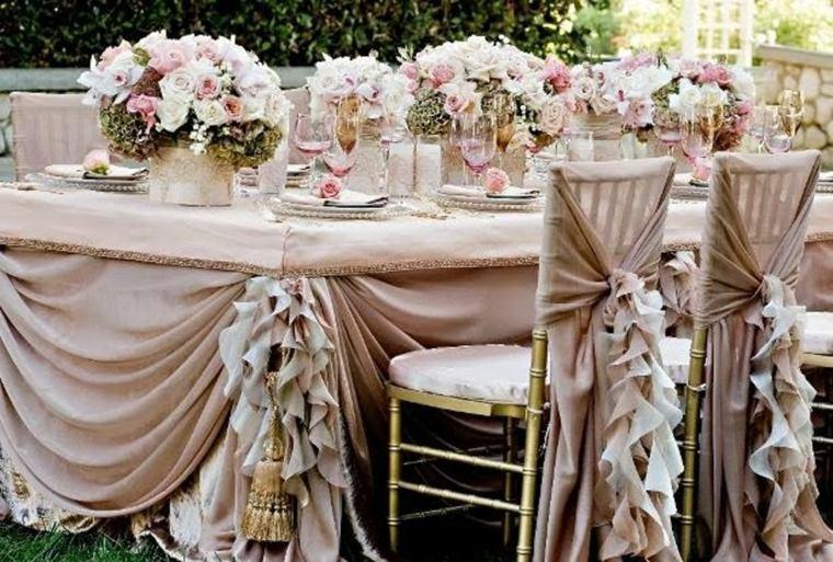 decoración de bodas vintage exterior