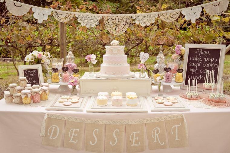 decoración de bodas vintage modernas
