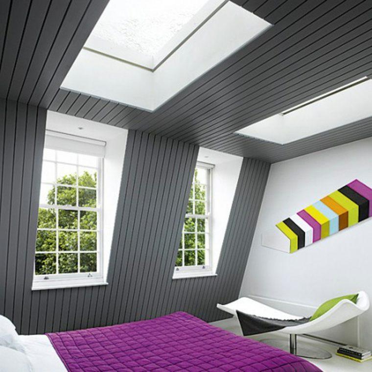decoración de buhardillas dormitorio