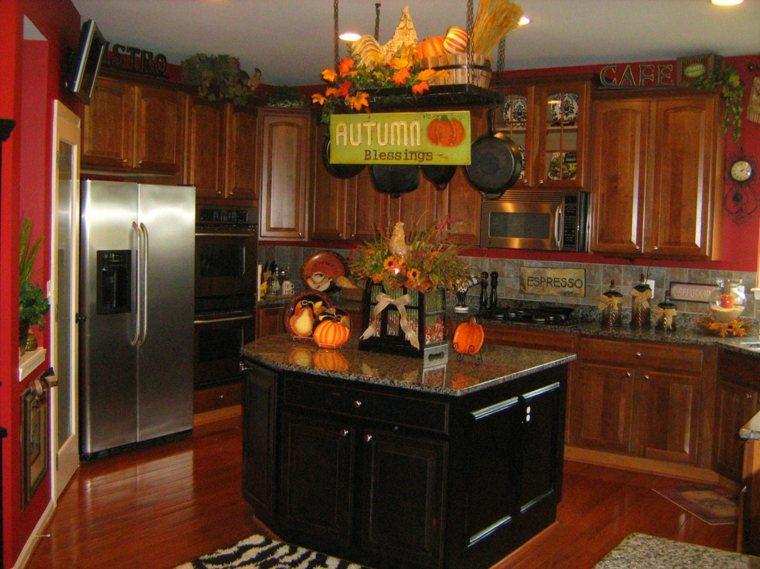 Decoración para cocinas para el otoño -