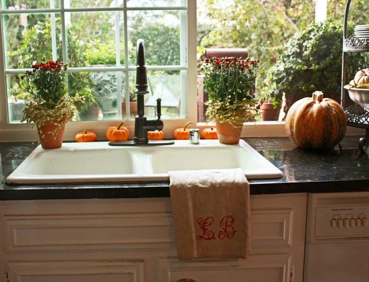 decoración de cocinas otoño