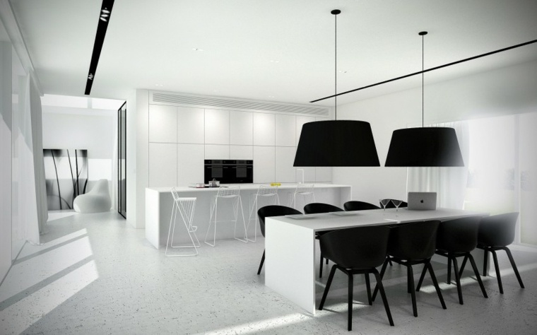 decoracion de interiores minimalista comedor disenado minimal architects ideas