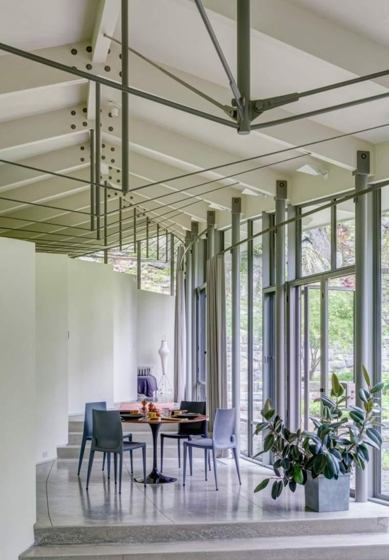 decoracion de interiores minimalista comedor disenado weiss manfredi ideas