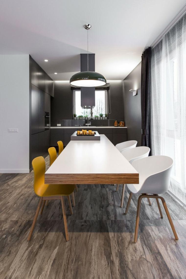 decoracion de interiores minimalista comedor disenado ycl studio ideas